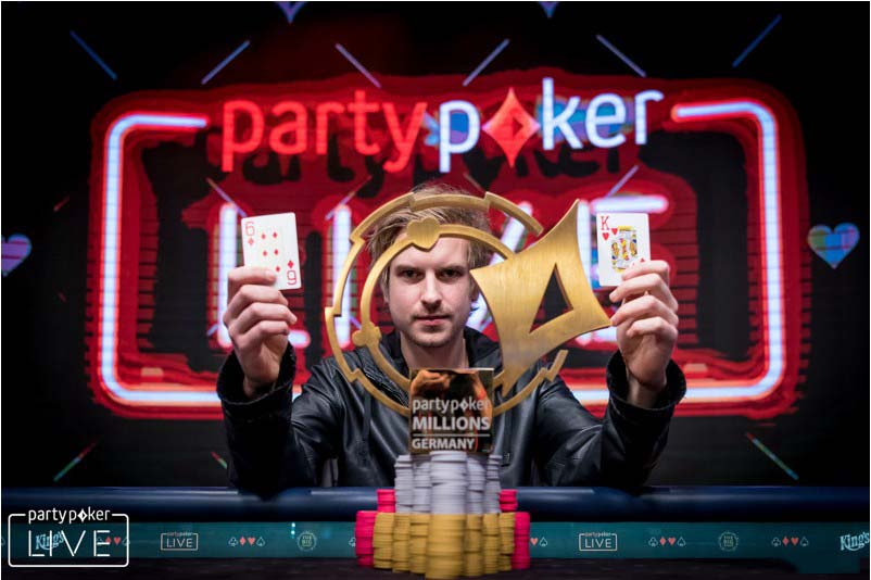 Viktor Blom is the player of the month according to PokerDiscover