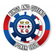 Kings and Queens Poker Club logo